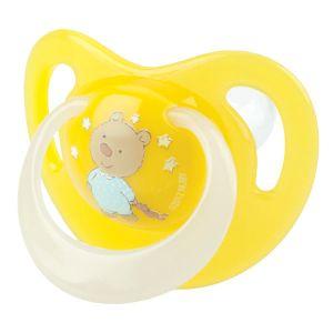 Nûby Sucette orthodontique massante et lumineuse 0-6 mois (couleur aléatoire)