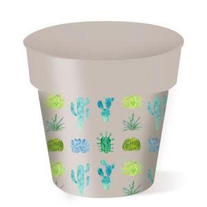 Cache-pot rond Cactus - 5 L - Ø 20 cm