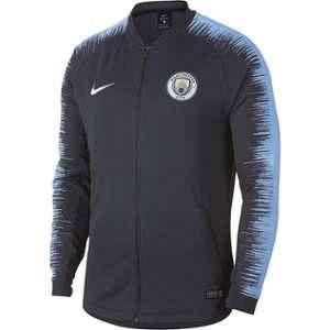 Nike Veste de football Manchester City FC Anthem pour Homme - Bleu - Taille L