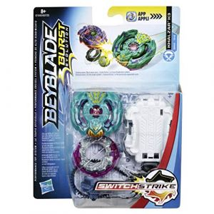 Hasbro Toupie Beyblade Burst Evolution - Toupie + Lanceur SwitchStrike
