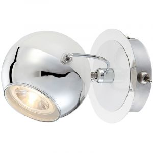 Globo Spot applique DEL 5 watts luminaire mural rétro éclairage chrome boule LED