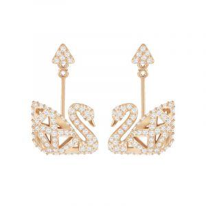 Swarovski Bijoux Femme Facet Swan Drop Boucles d'oreilles 5358058