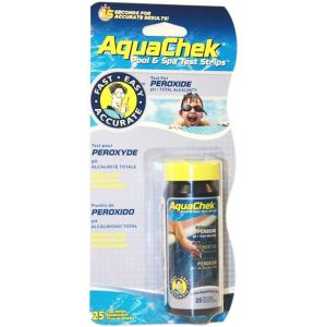 AquaChek Aquaperox - 25 bandelettes test pour peroxyde