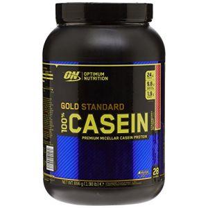 Optimum nutrition 100% casein protein (896g) fraise