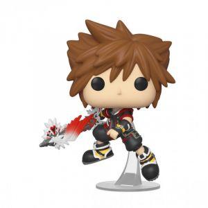 Funko Pop Disney: Kingdom Hearts 3-Sora w/Shield Figurine de Collection, 39939, Multicolore