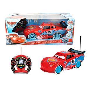 Majorette Voiture radiocommandée 1/12ème McQueen Cars Ice Racers