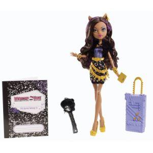 Mattel Monster High Clawdeen Wolf en vacances