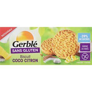 Gerblé Biscuits coco citron - 120g - sans gluten
