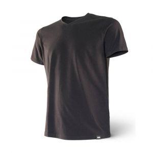 Saxx Underwear Vêtements intérieurs 3six Five S/s V Neck - Black - Taille XL