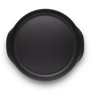 Eva Solo Plat de service Nordic Kitchen / Ø 30 cm - Grès noir mat en céramique