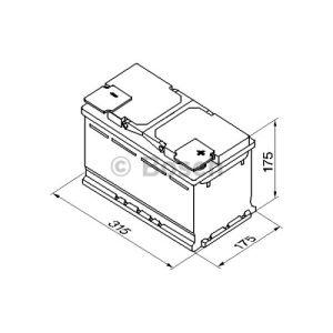 Bosch 0092S50100 - Batterie de démarrage