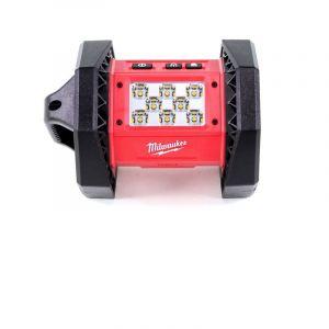 Milwaukee M18 AL-401 Projecteur LED de chantier avec 1100 sorties de lumière lumen + 1x Batterie 5.0 Ah - sans chargeur