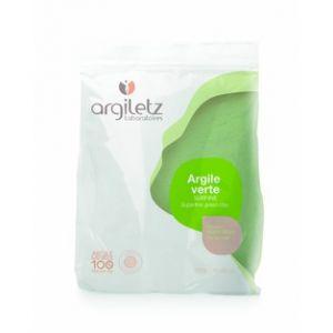 Argiletz Argile Verte surfine - Masque de beauté visage, cheveux, bain de douceur