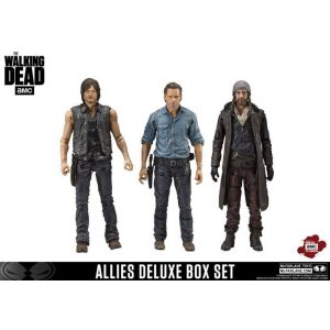 MCFarlane Toys The Walking Dead Tv Version Pack 3 Figurines Allies 13 Cm