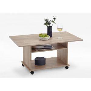 FMD Möbel FMD Table basse classique décor chêne - L 100 x l 60 cm