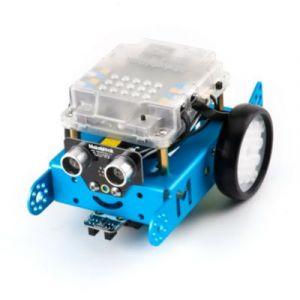 Makeblock Robot éducatif Mbot V1 - Bleu - Bluetooth ou 2.4 GHz série sans fil