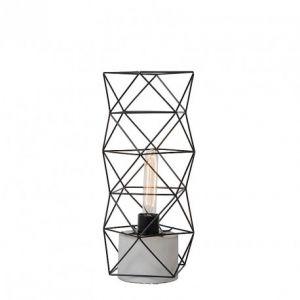 Lucide Lampe à poser vintage Rumico H42 cm - Noir
