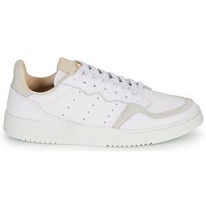Adidas Chaussures enfant SUPERCOURT J blanc - Taille 36,38,36 2/3,37 1/3,38 2/3,35 1/2