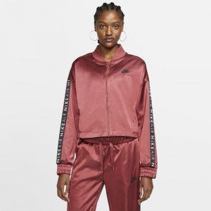 Nike Veste de survêtement en satin Air pour Femme - Rouge - Taille M - Female