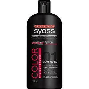 Saint Algue Syoss - Shampooing - Color Protect & Gloss - Flacon 500 ml