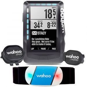 Wahoo Fitness Compteur gps pack ceinture cardio capteurs de vitesse cadence
