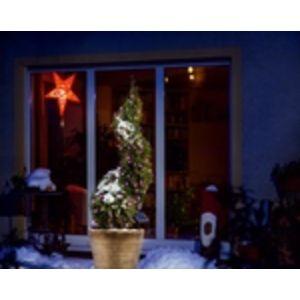 Esotec Guirlande solaire 100 LEDS rose