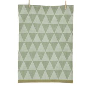 Ferm Living Torchon Mountain Tea Towel en textile