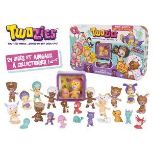 Giochi Preziosi Coffret Twozies 12 bébés et 12 animaux avec un mini cubies