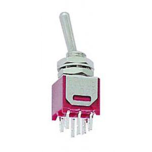 Perel 146362 submi niature Interrupteur à bascule, vertical