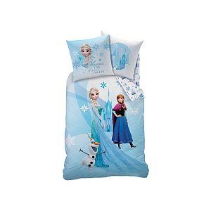 CTI Parure de lit avec drap housse Reine des Neiges