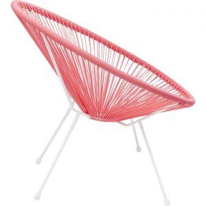 Kare Design Fauteuil Design Rose ACAPULCO