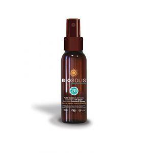 Biosolis Spray huile solaire SPF 20