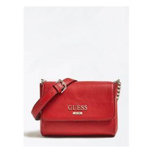 Guess Alma - Mini sac bandoulière charm logo - rouge