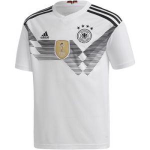 Adidas DFB Maillot Domicile WM 2018 Maillot de Football Enfant, Blanc/Noir, 176