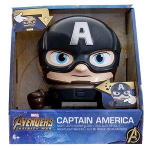 Bulbbotz Réveil enfant Captain America - Marvel Avengers Infini