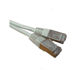 Waytex 32060 - Cordon réseau Patch RJ45 blindé FTP CAT 5e 1 m