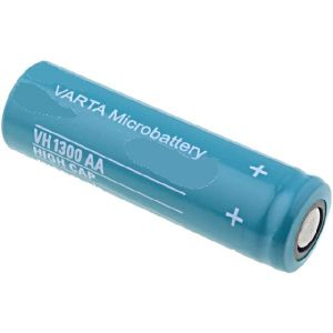 mid 4 Micro-batteries 1,2V AA R6 1300mAh