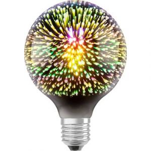 Osram LED E27 en forme de globe 3 W blanc chaud