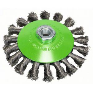 Bosch 2608622109 Brosse conique en inox 115 mm 0,35 mm M14