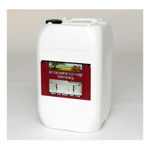 Arcane industries NETTOYANT DETARTRANT SANITAIRES - Nettoyant inox wc baignoire salle de bain sdb enlever calcaire sanitaire carrelage cabine douc | Transparente - Liquide - 200l