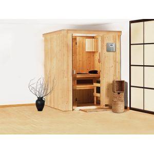 Veryspas Sauna Vapeur 3,6 kW traditionnel Finlandais 2-3 places Kubi Prestige Selects
