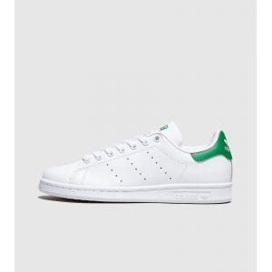 Adidas Stan Smith - Basket Mode - Femme - Blanc Cassé (Ftwbla/ftwbla/verde) - 40 2/3 EU