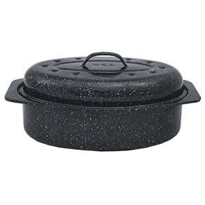 Graniteware 6106 - Roaster/cocotte à enfourner en acier (20 x 33 cm)