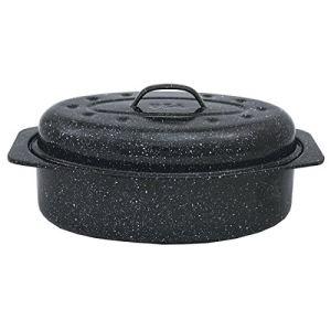 Image de Graniteware 6106 - Roaster/cocotte à enfourner en acier (20 x 33 cm)
