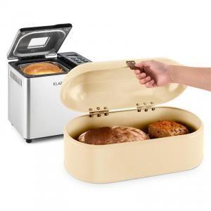 Klarstein Krümelmonster - Set machine à pain automatique 550w + boîte à pain