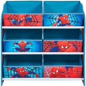 Room Studio Meuble de rangement 6 bacs Spiderman