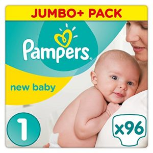 Pampers New Baby taille 1 (2-5 kg) - Jumbo+ Pack (x96 couches)