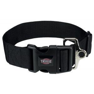 Trixie Premium collier - L-XXL: 55-80 cm/50 mm, noir