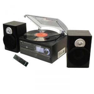 Inovalley RETRO19 - Chaîne hifi graveur CD et encodage