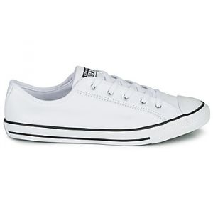Converse Chaussures CHUCK TAYLOR ALL STAR DAINTY GS LEATHER OX - Couleur 36,37,38,39,40,41,35 1/2,37 1/2 - Taille Blanc
